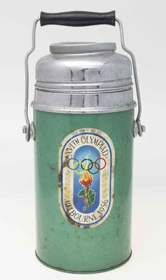 Thermos, 1956 Melbourne Olympic Games logo