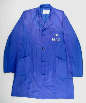 Dust coat issued by the Melbourne Cricket Club