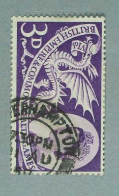 Stamp, British Empire & Commonwealth Games 1958