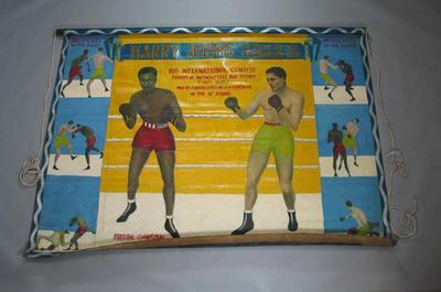 Banner - Harry Johns' Big International Contest -  Freddie Dawson, Vic Patrick  1947