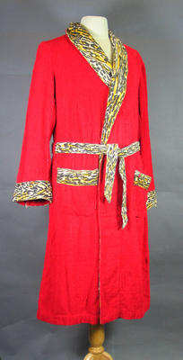 Robe worn by boxer Harry Johns in the 1920s