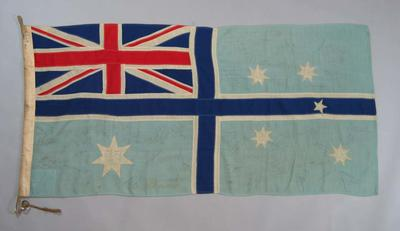 Department of Civil Aviation flag  autographed  by 1962 Commonwealth Games Team members