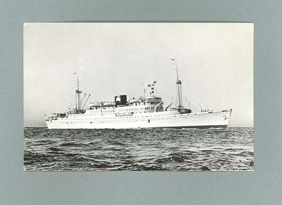 Postcard depicting Tjiluwah Tjiwangi, Royal Interocean Lines c1920s