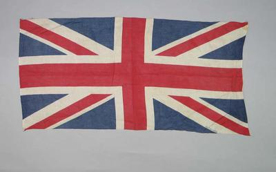 Union Jack flag, used at 1972 Olympic Games