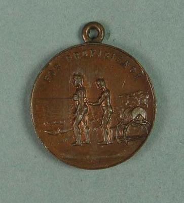 Surf Life Saving Association of N.S.W. medallion, awarded to Frank Beaurepaire in 1921