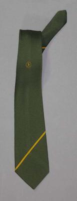Tie - part of Australian Team Uniform 1986 Edinburgh Commonwealth Games, worn by Stan Golinski; Clothing or accessories; 1998.3443.1