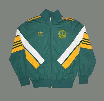 Australian Team tracksuit top worn by Stan Golinski, 1986 Edinburgh Commonwealth Games