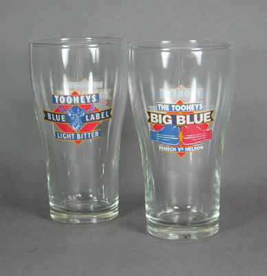 Beer glasses, Fenech v Nelson Tooheys Big Blue boxing bout 1992