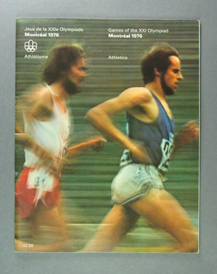 Programme for 1976 Olympic Games athletics events