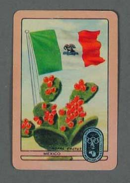 1956 Melbourne Olympic Games Swap Card - Mexico