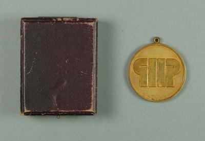 Bronze medal won by Raelene Boyle for 2nd Pacific Conference Games 4x100m relay final, 1973