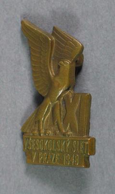 Small Czechoslovakian badge