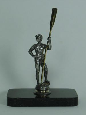 Statuette of a rower holding an oar, c1880s