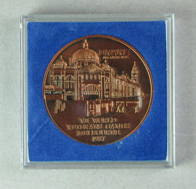 Commemorative medal, VII World Veteran's Games 1987