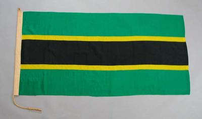 Tanganyikan flag, used during 1956 Olympic Games