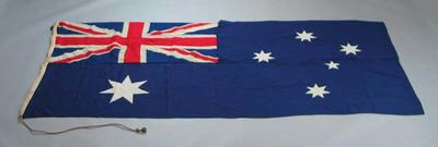 Australian flag, used at 1956 Olympic Games