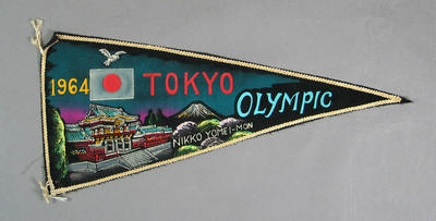 Pennant, 1964 Tokyo Olympic Games