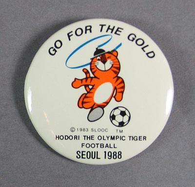 Badge, 1988 Seoul Olympic Games