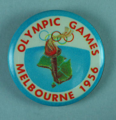 Badge, Melbourne 1956 Olympic Games