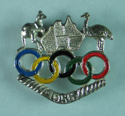 Badge, Australian Olympic Committee c1956