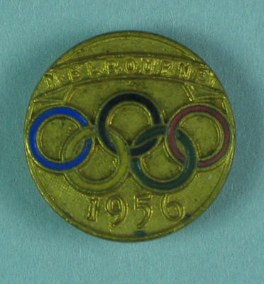 Stick pin, 1956 Olympic Games
