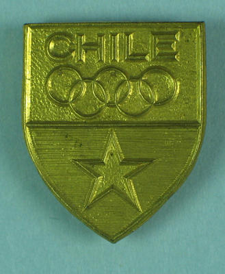 Badge, Chile 1956 Olympic Games team