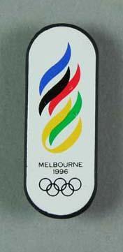 Badges, Melbourne 1996 Olympic Games logo