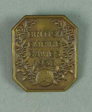 Badge, British Empire Games 1938