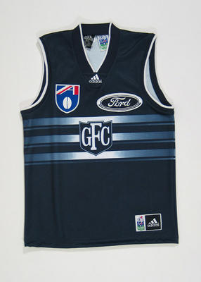 Guernsey - Geelong Football Club authentic player's  'Jumper Away'