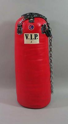Large red punching bag, V.I.P. brand