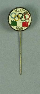 Stick pin, 1968 Mexico City Olympic Games