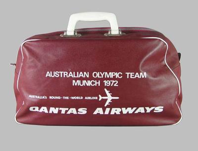 1972 Olympic Games Australian team bag