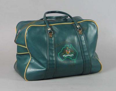 1968 Olympic Games Australian team bag