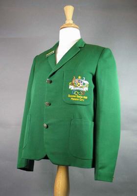 1968 Olympic Games Australian team blazer, worn by Pam Kilborn