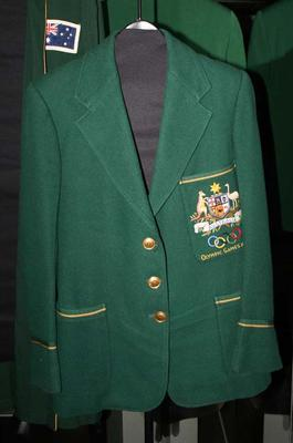 1952 Olympic Games Australian team blazer, worn by Marjorie Jackson