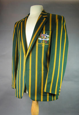 1980 Olympic Games Australian team blazer, worn by Gregory Benko