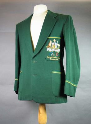 Blazer, 1956 Australian Olympic Games team