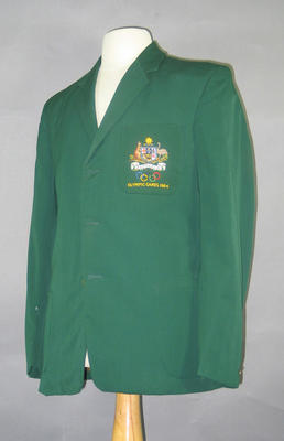 Blazer, 1964 Australian Olympic Games team; Clothing or accessories; 1994.2980.38