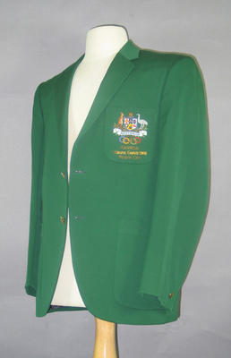 Blazer, 1968 Australian Olympic Games team; Clothing or accessories; 1994.2980.39.1
