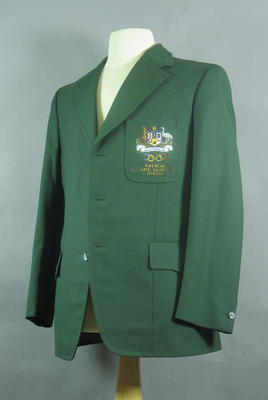Blazer, 1972 Australian Olympic Games team