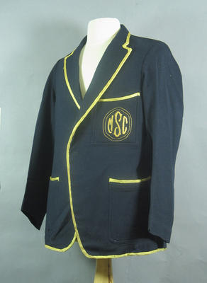 Blazer, Melbourne Swimming Club c1920s