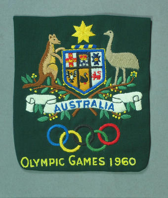 Blazer pocket, 1960 Olympic Games Australian Team