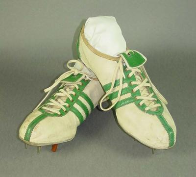 A pair of Running shoes worn by Ron Delany,  Final winner 1500 metres 1956 Melbourne Olympic Games