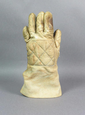 Leather glove, used by Gregory Benko at 1976 Olympic Games