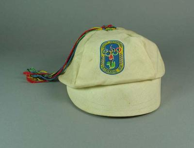 1956 Olympic Games Souvenir Peaked Hat with Tassel