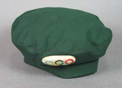 Beret, worn by 1956 Olympic Games drivers