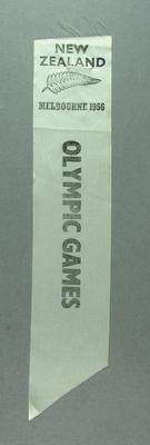 1956 Olympic Games New Zealand team ribbon