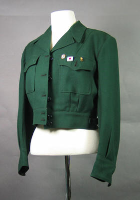 1956 Olympic Games driver's green jacket