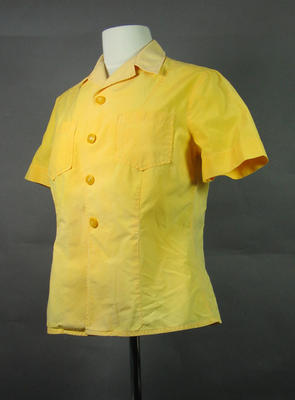 1956 Olympic Games driver's gold blouse