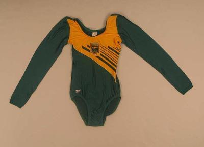1984 Australian Olympic gymnastics  leotard